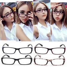 Men Women Black Optical Glasses Eyeglass Frame Vintage Nerd Spectacles Len Clear