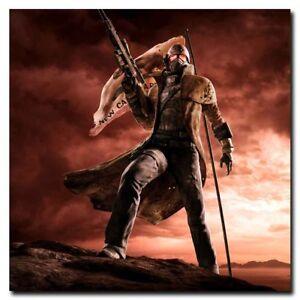 Fallout New Vegas 24x24inch Video Games Silk Poster Hot Art Print