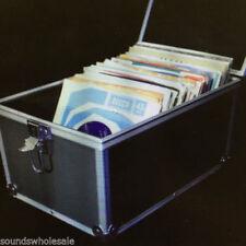 Cajas, bastidores y bolsas negro de aluminio para equipos de DJ y espectáculos