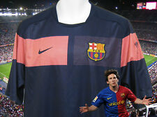 New NIKE  BARCELONA FOOTBALL Training Pre Match Shirt navy / Pink