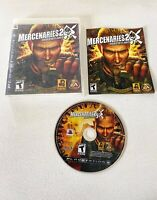 Mercenaries 2: World in Flames PS3 (Sony PlayStation 3, 2008) COMPLETE! Tested