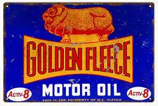 Reproduction Golden Fleece Motor Oil Sign