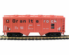 HHO Scale Model Railroad Trains Layout Granite Rock Hopper Rolling Stock 98084