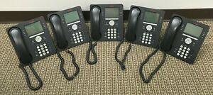 Lot of 5 - Avaya 9608 Business/ Office IP Phone (700480585) - 8 Line Phone
