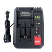 New 20V Charger PCC692L PCC691L for Porter Cable 20V & Black Decker 20V Battery