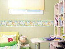 Bear Family Picnic Nursery Wall border Wallpaper Border 15cm x 5M