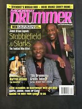 Modern Drummer Magazine September 1999 Stubblefield & Starks