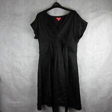 Monsoon Midi Dress Black Size 20 Stylish Smart Casual Fashion Wear