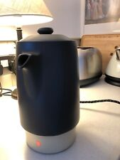 More details for russell hobbs / wedgwood electric coffee percolator with cable - retro magic!
