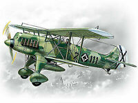 ICM 1:72 scale model kit Heinkel He 51B-1, Spanish Air Force Fighter  ICM72191