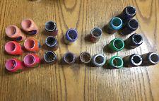 Lot of 22 Spools Rexlace Leatherwork Plastic Craft Lacing Boondoggle Assorted