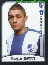 FRANCOIS MARQUE FRANCE GRENOBLE FOOT LE MONT.FC UPDATE STICKER FOOT 2010 PANINI