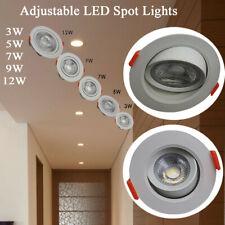 3W 5W 7W 9W 12W NEW LED Ceiling Adjustment Downlights Angle Recessed Spotlights