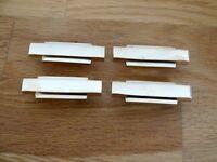 BRASS DRAWER PULL CUPBOARD FURNITURE ART DECO KNOBS HANDLES DOOR