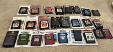 Lot of 25 Atari 2600 Games -Tested and Working Most Have Manuals