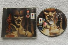LOVE BITES 3DO V.G.C. FAST POST 18 ADULTS ONLY ( mega rare exotic video game )