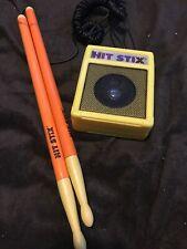 Hit Stix, Drum Sticks. Vintage Toy! 1988 Nasta - Tested One Stick Working