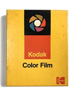 "KODAK Ektachrome Color Film 6115 Daylight 4"" x 5"" ~ Exp 1975  / SEALED"