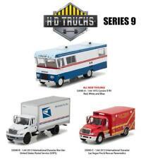 GreenLight 33090 Heavy Duty Trucks Series 9 Set of 3 Diecast Model 1/64 Scale