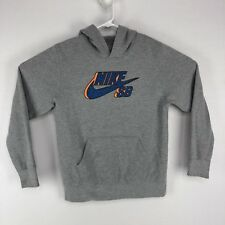 Nike Sb Womens Xl Hoodie Gray Hooded Sweatshirt Zr