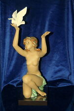 LLADRO PEACE OFFERING NUDE BRAND NEW IN BOX #13559 DOVE GRES LARGE $250 OFF F/SH