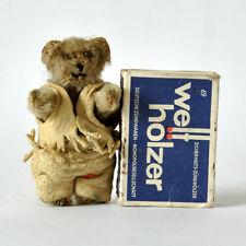 Alter Miniatur - TEDDYBÄR, Höhe 6,5 cm, 20er Jahre