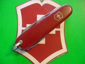 NTSA VINTAGE (1957-74) SWISS ARMY VICTORIA VICTORINOX PKT KNIFE 84mm CLIMBER