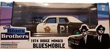 Greenlight CHASE Green Machine 84011 1974 Dodge Monaco Bluesmobile 1:24 Scale