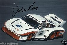 "Former Formula One F1 & Le Man Driver Jochen Mass Hand Sigend Photo 12x8"" D"