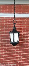 "Hanging ""Wrought Iron"" Coach Lamp Miniature 1/24 Scale Diorama Accessory Item"