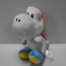 """Nintendo Super Mario Bros. sidekick Yoshi  6 1/2""""  GREY Plush Doll Toy"""