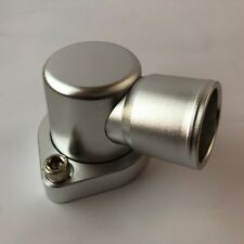 THERMOSTAT HOUSING FORD 302-351 CLEVELAND 90 DEGREE SWIVEL SILVER -J&M Old Skool