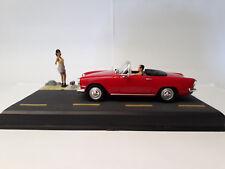 """Altaya diorama Simca oceane convertible rojo """"la Route bleue"""" nuevo 1:43"""
