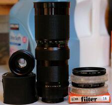 Suntar 85-210mm f3.5 M42 Lens + PL & 1A Filters & 2X Converter / SEE TEST PICS