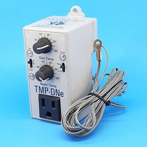 C.A.P. CAP TMP-DNe - Day & Night Temperature Controller Heating Cooling