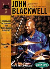 John Blackwell Technique, Grooving and Showmanship DVD