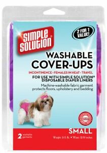 Simple Solution Washable Diaper Cover-Ups, Small, Colors May Vary.