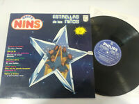 """Grupo Nins Sterne de los Kinder LP vinyl 12 """" 1981 Philips VG/VG"""