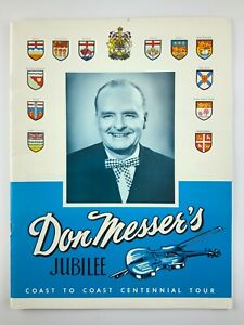 1967 Ephemera Don Messers Jubilee Coast To Coast Centennial Tour Canadian 775A