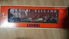 LIONEL Western Maryland 3 Bay Hopper w/Load (9300) #6-17129 NIB (see notes)
