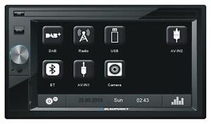 Blaupunkt Oslo 370 DAB Doppel-DIN MP3-Autoradio Touchscreen Bluetooth USB SD Car
