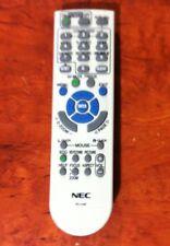 NEC RD-448E Remote Control RD-443E RD-452E RD-450D RD-458E Series