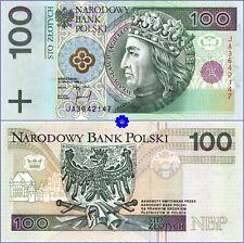 POLAND 100 ZLOTYCH 25.03.1994 *P-176*PREFIX JA*UNC*Banknote
