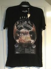 Diesel T Shirt Size M Black Brave Revival New (SS6)
