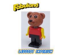 LEGO Fabuland Bear - rare minifig fab1c FREE POST