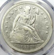 1859-O Seated Liberty Silver Dollar $1 Certified PCGS XF Detail (EF) - Rare Coin