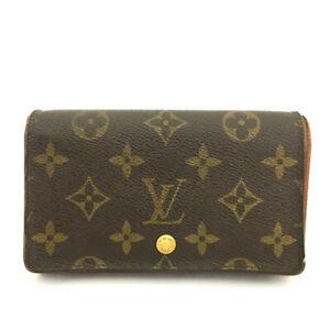 Louis Vuitton Monogram Porte Monnaie Billets Tresor Bifold Wallet /B1849