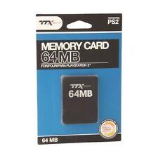 Cartes mémoire pour console de jeux vidéo pour Sony PlayStation 2