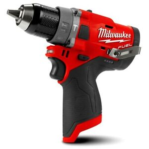 Milwaukee M12FPD-0 12V Li-Ion Cordless Fuel Hammer Drill Driver - AU Stock