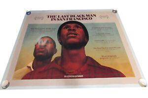 Last Black man in San Francisco movie UK quad poster ORIGINAL D/S Stehrenberger